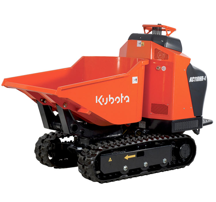 Kubota KC110HR 4 2