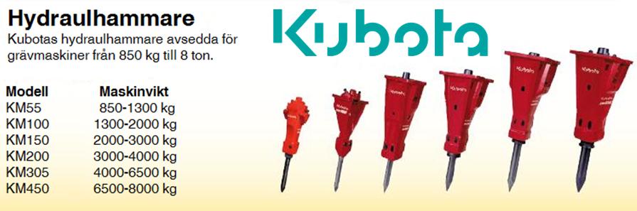 hydraulhammare_kubota