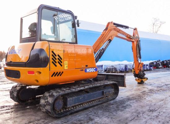 Hanix H56C 2009 5400 kg