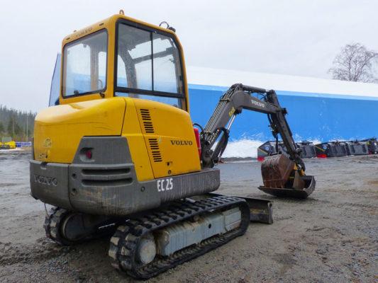 Volvo EC25 2000 5700 kg